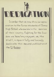 Page 9, 1944 Edition, Dumas High School - Demon Yearbook (Dumas, TX) online yearbook collection