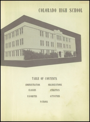 Page 5, 1953 Edition, Colorado City High School - Lone Wolf Yearbook (Colorado City, TX) online yearbook collection