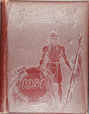 1954 Edition, Colorado City High School - Lone Wolf Yearbook (Colorado City, TX)