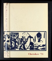1971 Edition, Sam Houston High School - Cherokee Yearbook (Arlington, TX)