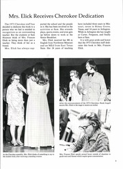 Page 9, 1973 Edition, Sam Houston High School - Cherokee Yearbook (Arlington, TX) online yearbook collection