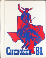 1981 Edition, Sam Houston High School - Cherokee Yearbook (Arlington, TX)