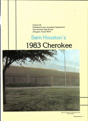 Page 5, 1983 Edition, Sam Houston High School - Cherokee Yearbook (Arlington, TX) online yearbook collection