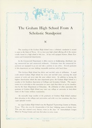Page 16, 1930 Edition, Graham High School - Steer Yearbook (Graham, TX) online yearbook collection