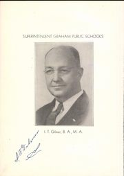 Page 10, 1941 Edition, Graham High School - Steer Yearbook (Graham, TX) online yearbook collection