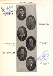 Page 14, 1941 Edition, Graham High School - Steer Yearbook (Graham, TX) online yearbook collection