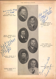 Page 16, 1941 Edition, Graham High School - Steer Yearbook (Graham, TX) online yearbook collection