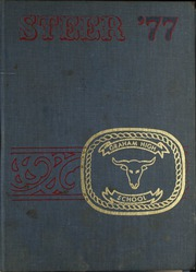 1977 Edition, Graham High School - Steer Yearbook (Graham, TX)
