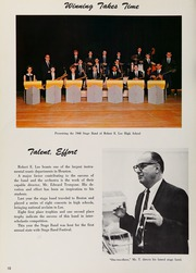 Page 14, 1968 Edition, Robert E Lee High School - Saber Yearbook (Houston, TX) online yearbook collection