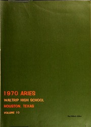 Page 5, 1970 Edition, Waltrip High School - Aries Yearbook (Houston, TX) online yearbook collection