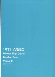 Page 5, 1971 Edition, Waltrip High School - Aries Yearbook (Houston, TX) online yearbook collection