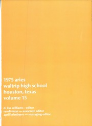 Page 5, 1975 Edition, Waltrip High School - Aries Yearbook (Houston, TX) online yearbook collection