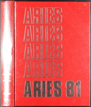 1981 Edition, Waltrip High School - Aries Yearbook (Houston, TX)