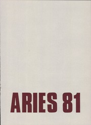 Page 3, 1981 Edition, Waltrip High School - Aries Yearbook (Houston, TX) online yearbook collection