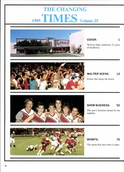 Page 14, 1985 Edition, Waltrip High School - Aries Yearbook (Houston, TX) online yearbook collection