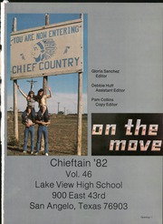 Page 7, 1982 Edition, Lake View High School - Chieftain Yearbook (San Angelo, TX) online yearbook collection