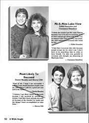 Page 98, 1988 Edition, Lake View High School - Chieftain Yearbook (San Angelo, TX) online yearbook collection