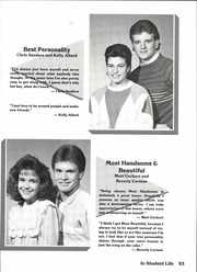 Page 99, 1988 Edition, Lake View High School - Chieftain Yearbook (San Angelo, TX) online yearbook collection