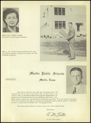 Page 13, 1950 Edition, Marlin High School - Viesca Yearbook (Marlin, TX) online yearbook collection