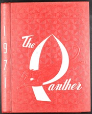 1971 Edition, C E King High School - Panther Yearbook (Houston, TX)