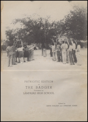 Page 5, 1941 Edition, Lampasas High School - Badger Yearbook (Lampasas, TX) online yearbook collection