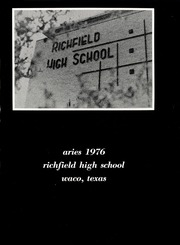 Page 5, 1976 Edition, Richfield High School - Aries Yearbook (Waco, TX) online yearbook collection