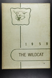 1959 Edition, Fabens High School - Wildcat Yearbook (Fabens, TX)