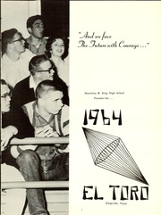 Page 5, 1964 Edition, H M King High School - El Toro Yearbook (Kingsville, TX) online yearbook collection