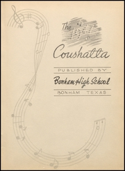 Page 7, 1947 Edition, Bonham High School - Coushatta Yearbook (Bonham, TX) online yearbook collection
