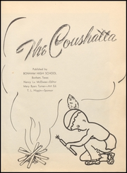 Page 7, 1948 Edition, Bonham High School - Coushatta Yearbook (Bonham, TX) online yearbook collection