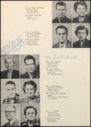 Page 12, 1953 Edition, Bonham High School - Coushatta Yearbook (Bonham, TX) online yearbook collection