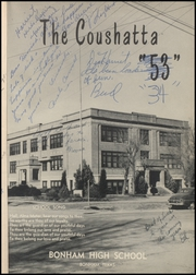 Page 5, 1953 Edition, Bonham High School - Coushatta Yearbook (Bonham, TX) online yearbook collection