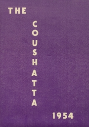 1954 Edition, Bonham High School - Coushatta Yearbook (Bonham, TX)