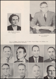 Page 10, 1957 Edition, Bonham High School - Coushatta Yearbook (Bonham, TX) online yearbook collection