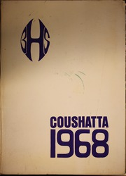 1968 Edition, Bonham High School - Coushatta Yearbook (Bonham, TX)
