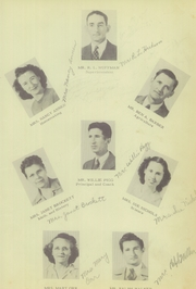 Page 11, 1949 Edition, Mansfield High School - Tiger Yearbook (Mansfield, TX) online yearbook collection