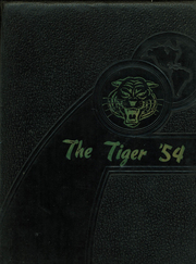1954 Edition, Mansfield High School - Tiger Yearbook (Mansfield, TX)