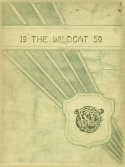 1950 Edition, Whitehouse High School - Wildcat Yearbook (Whitehouse, TX)