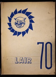 Page 1, 1970 Edition, Nixon High School - Lair Yearbook (Nixon, TX) online yearbook collection