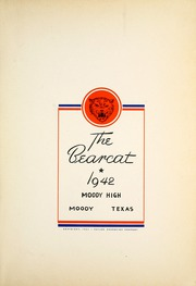 Page 7, 1942 Edition, Moody High School - Bearcat Yearbook (Moody, TX) online yearbook collection