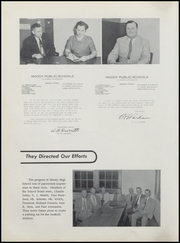 Page 10, 1956 Edition, Moody High School - Bearcat Yearbook (Moody, TX) online yearbook collection