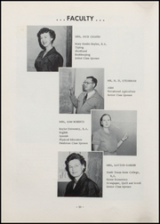 Page 16, 1958 Edition, Moody High School - Bearcat Yearbook (Moody, TX) online yearbook collection