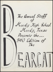 Page 7, 1960 Edition, Moody High School - Bearcat Yearbook (Moody, TX) online yearbook collection
