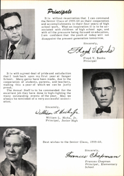 Page 11, 1960 Edition, Sanger High School - Golden Warrior Yearbook (Sanger, TX) online yearbook collection