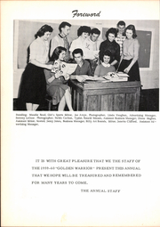 Page 6, 1960 Edition, Sanger High School - Golden Warrior Yearbook (Sanger, TX) online yearbook collection