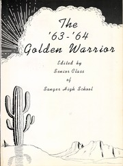 Page 5, 1964 Edition, Sanger High School - Golden Warrior Yearbook (Sanger, TX) online yearbook collection