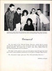 Page 6, 1964 Edition, Sanger High School - Golden Warrior Yearbook (Sanger, TX) online yearbook collection