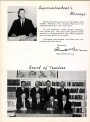 Page 8, 1964 Edition, Sanger High School - Golden Warrior Yearbook (Sanger, TX) online yearbook collection