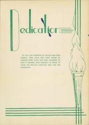 Page 7, 1948 Edition, South Park High School - Spindletop Yearbook (Beaumont, TX) online yearbook collection