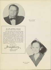 Page 12, 1949 Edition, South Park High School - Spindletop Yearbook (Beaumont, TX) online yearbook collection